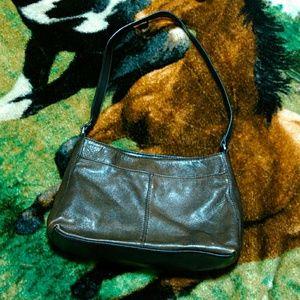 Genuine leather st John's purse